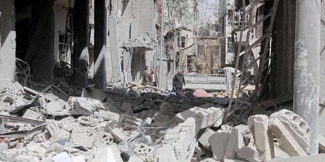 Esed rejiminden Guta'ya klor gazlı saldırı
