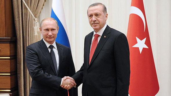 Erdoğan'dan Putin'e tebrik