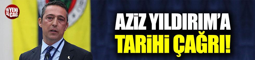 """Ali Koç'tan Aziz Yıldırım'a: """"Gel ekranların karşısına çıkalım!"""""""