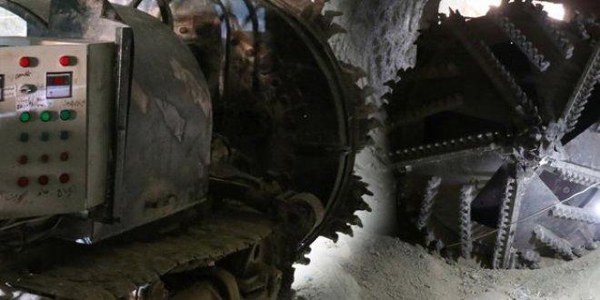 Afrin'de terör örgütünün açtığı tüneller bulundu