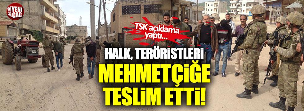 TSK: Afrin halkı 3 teröristi yakalayıp teslim etti