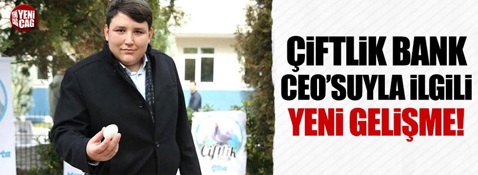 Çiftlik Bank CEO'su Mehmet Aydın'ın iade talebi dosyası gönderildi