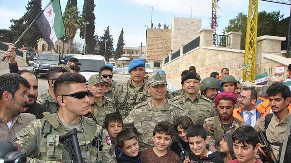 2. Ordu Komutanı Temel, Afrin'de