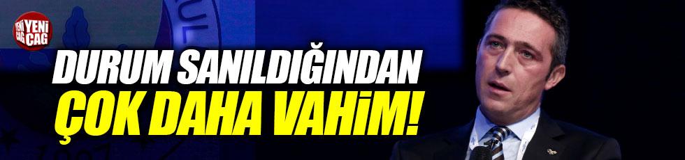 """Ali Koç, """"Fenerbahçe'nin durumu vahim"""""""