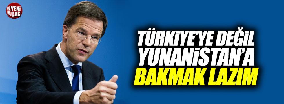 """""""Türkiye'ye değil Yunanistan'a bakmak lazım"""