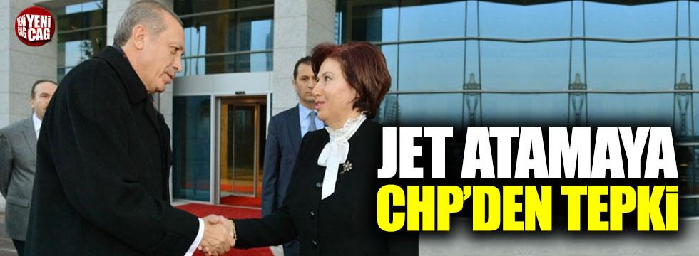 Jet atamaya CHP'den tepki