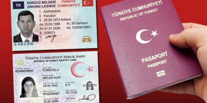 Yeni kimlik, ehliyet ve pasaport uzun kuyruklara neden olacak