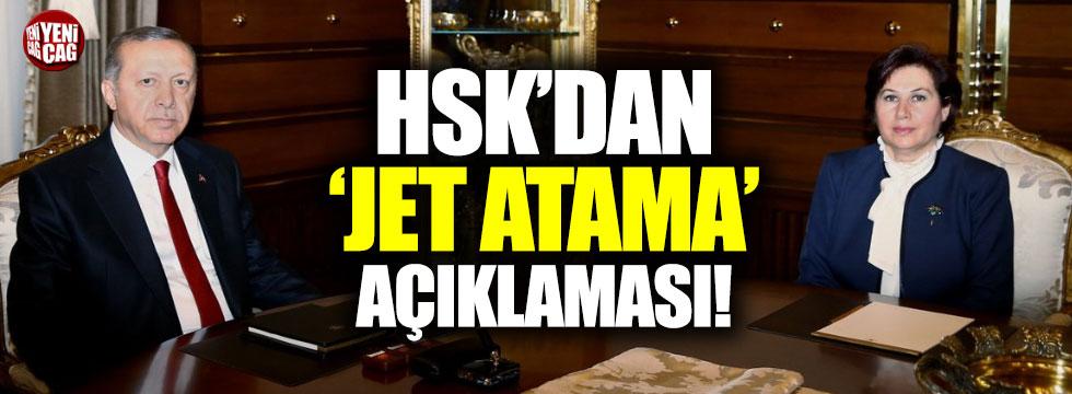 HSK'dan 'jet atama' açıklaması