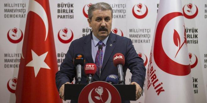 BBP lideri Destici'den hükümete çağrı