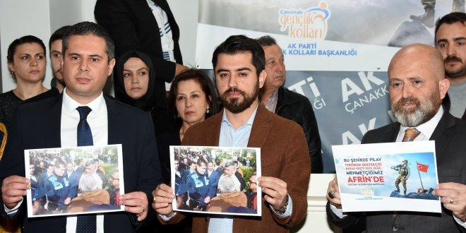 AKP ile CHP'nin pankart kavgası!