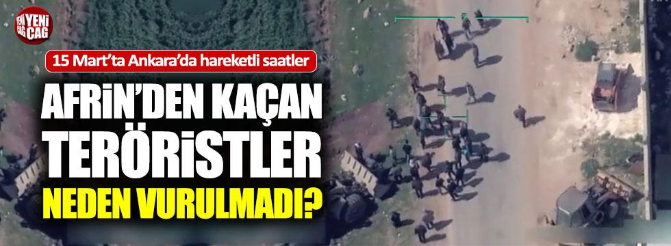 Teröristler sivilleri kalkan yapıp kaçmışlar