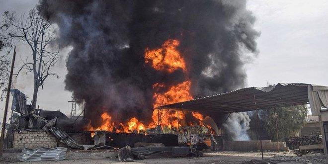 Doğu Guta'da 37 sivil yanarak can verdi