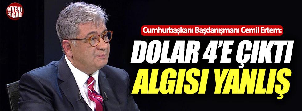 """""""Dolar 4'e çıktı algısı yanlış"""""""