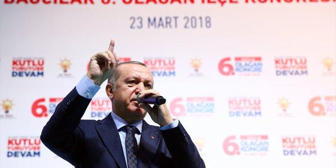 Erdoğan: Bu iş Afrin ile bitmeyecek
