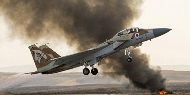 İsrail'den Hamas'a ait 9 noktaya saldırı