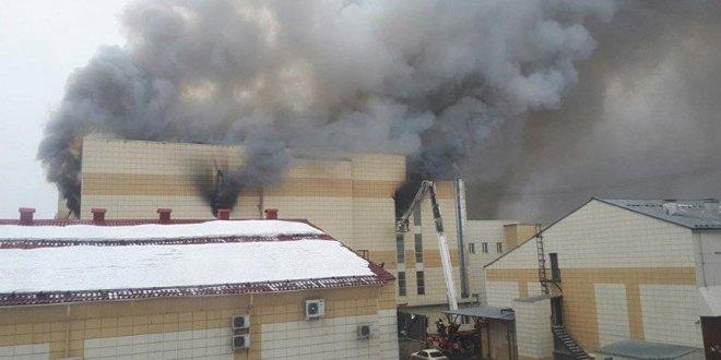 Rusya'da AVM'de yangın: 52 ölü64