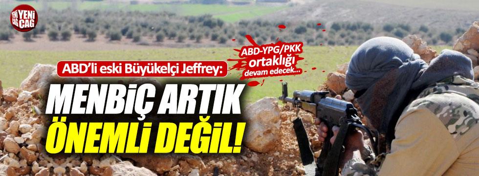 """ABD'nin eski Ankara Büyükelçisi: """"Menbiç artık stratejik değil"""""""