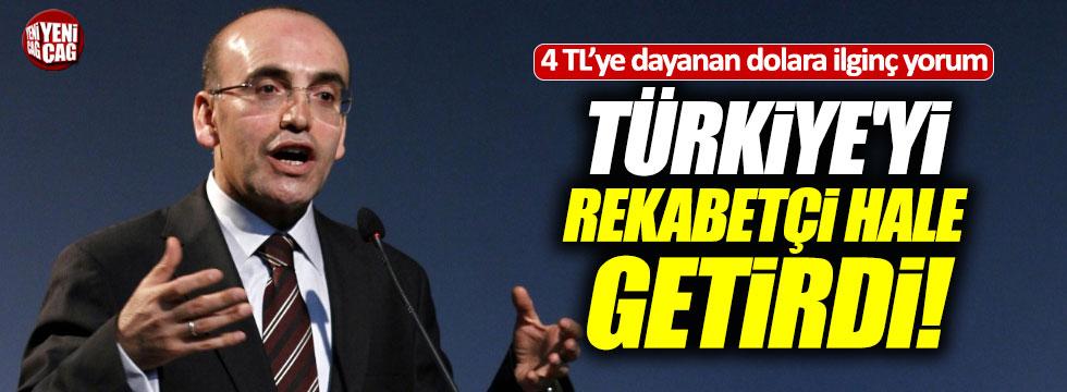 """""""Lirada değer kaybı Türkiye'yi rekabetçi hale getirdi"""""""