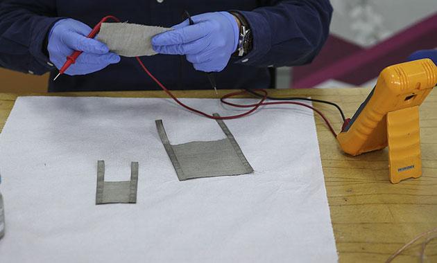 Kıyafetleri ısıtacak teknoloji geliştirildi