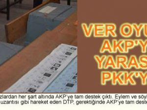 Ver oyunu AKPye yarasın PKKya