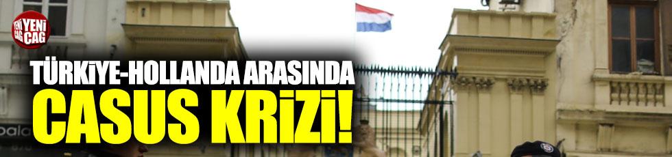 Hollanda ile Türkiye arasında casus krizi