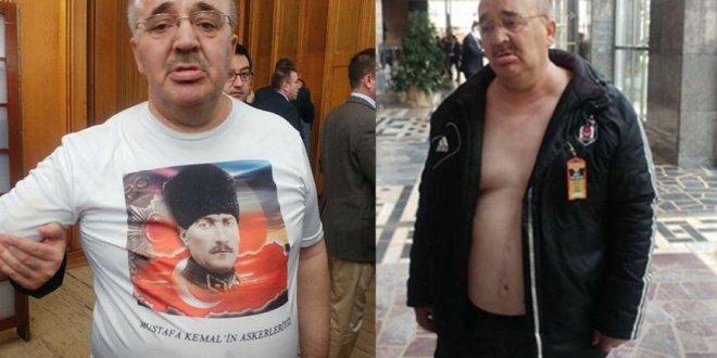 Meclis'te Atatürk tişörtü krizi