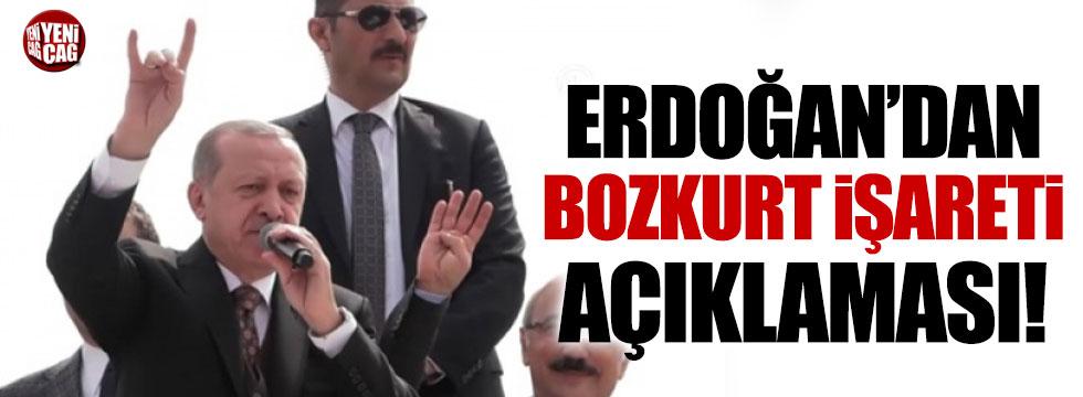 Erdoğan'dan bozkurt açıklaması