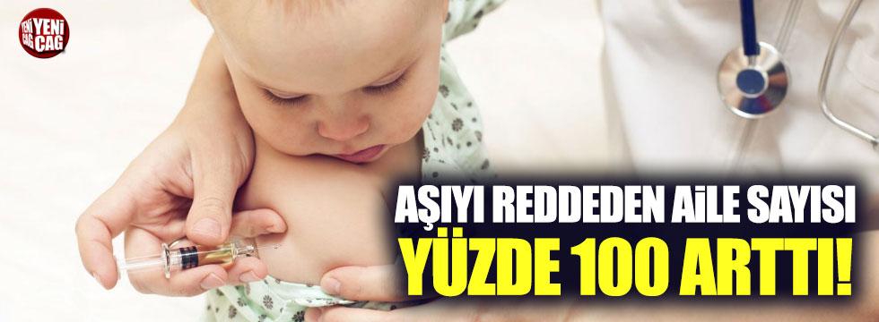 Çocuklarına aşı yaptırmayan aile sayısı 23 bine çıktı
