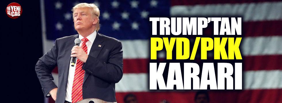 Trump'tan YPG/PKK kararı