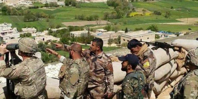 ABD'li askerler YPG ile Türk askerini inceledi