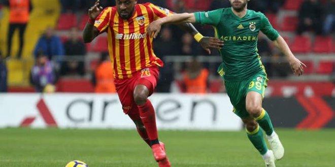 Kayserispor-Fenerbahçe 0-5 maç özeti