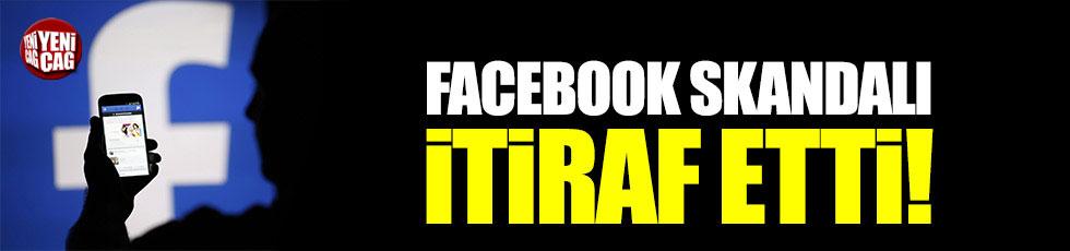 Facebook, skandalı itiraf etti