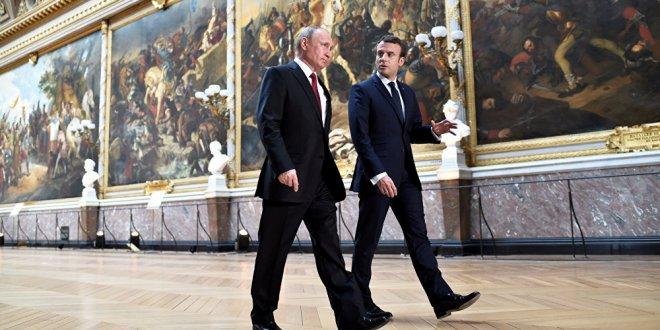 Putin ve Macron'dan 'Ankara' görüşmesi