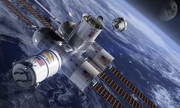İlk lüks uzay oteli 2022 yılında açılıyor
