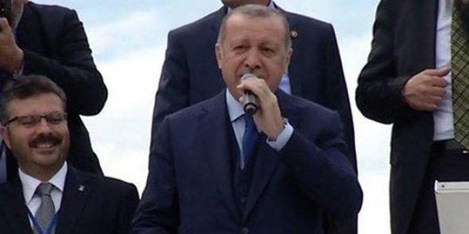 Erdoğan'dan ünlülere eleştiriye cevap