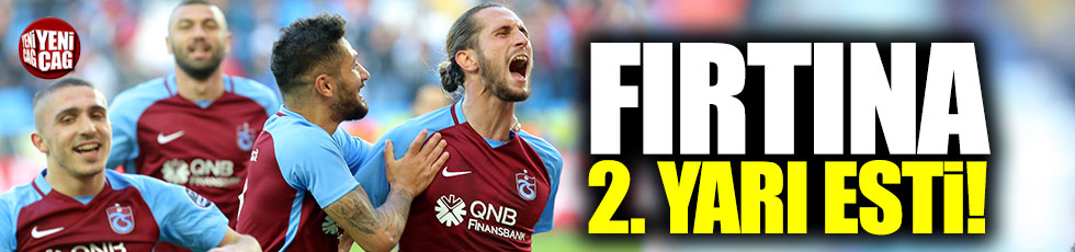 Trabzonspor-Kayserispor 4-0 (Maç özeti)