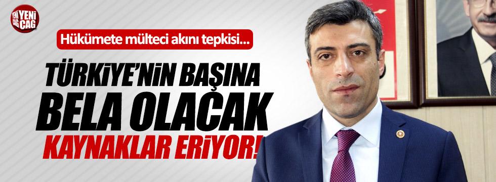 """Yılmaz: """"Mülteci konusu Türkiye'nin başına bela olacak """""""
