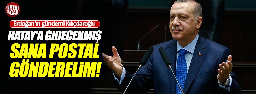 """Erdoğan'dan Kılıçdaroğlu'na: """"Duydum ki Hatay'a gidecekmiş!"""""""