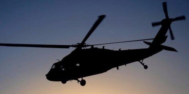 Yunanistan'dan Türk helikopterine uyarı ateşi