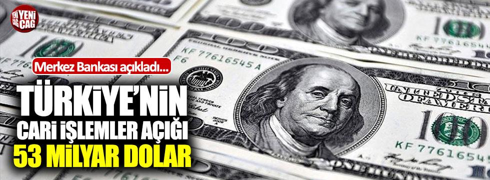 Türkiye'nin şubat ayı cari açığı 4 milyar dolar