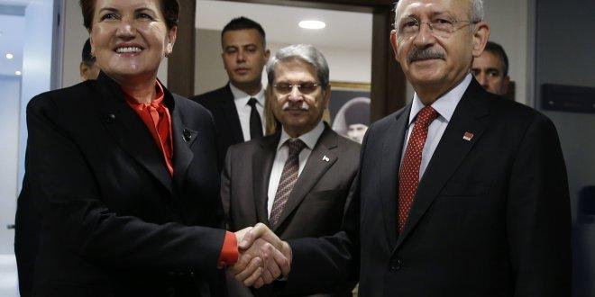 Akşener, Kılıçdaroğlu görüşmesi