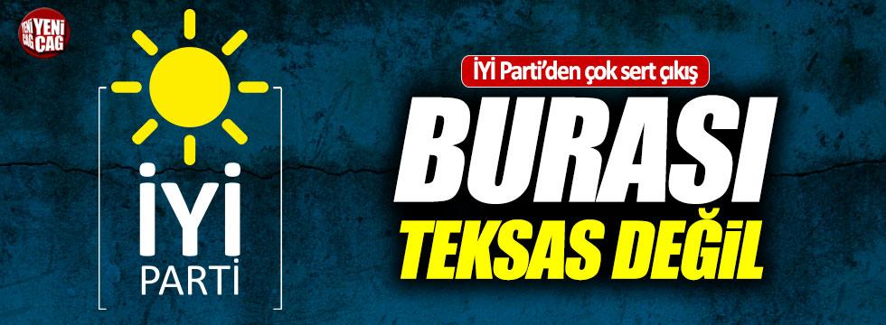 İYİ Parti'den bireysel silahlanma tepkisi