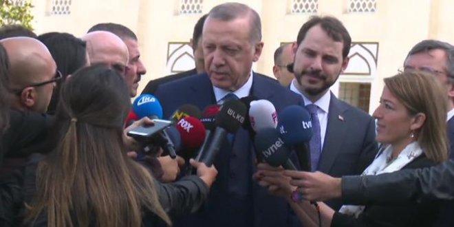 Erdoğan, Trump ve Putin ile görüşmelerini değerlendirdi