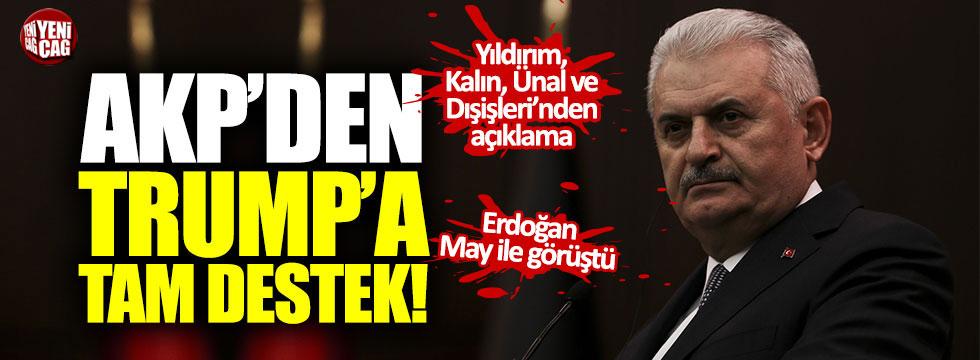 AKP'den Trump'a tam destek!