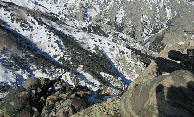 Ağrı Dağı bölgesinde 8 terörist öldürüldü
