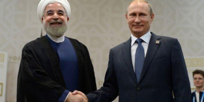Putin, Ruhani arasında Suriye görüşmesi