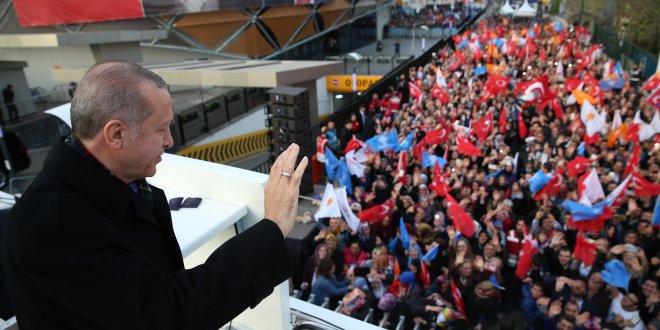 """Erdoğan: """"Bu ülkede yaşam hakkı bulamazsınız"""""""