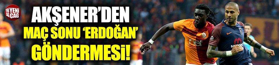 Akşener'den Erdoğan'a Başakşehir tepkisi