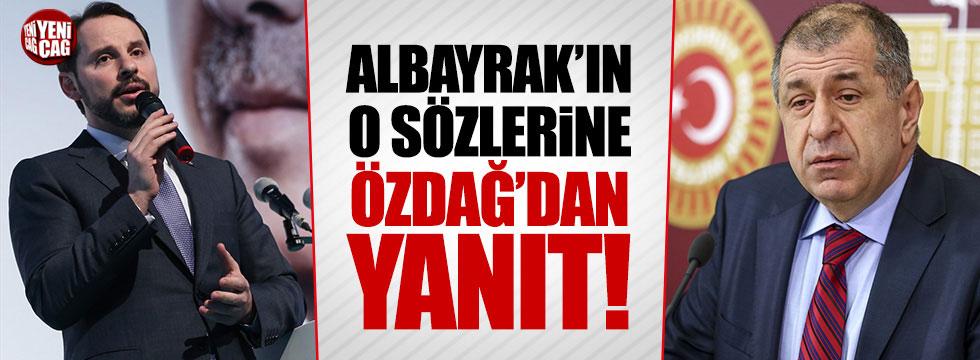 Özdağ'dan Berat Albayrak'ın o sözlerine yanıt!