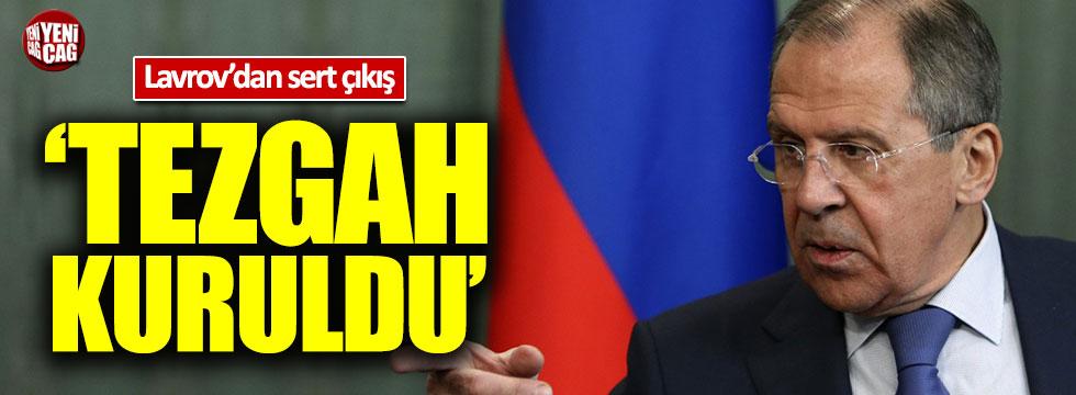 Lavrov: Tezgah kuruldu